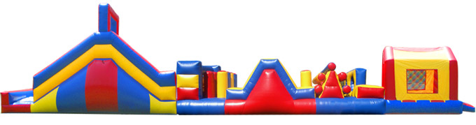 Mega Obstacle Course Pictures